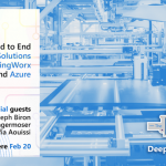 Learn how to build with Azure IoT: Upcoming IoT Deep Dive events